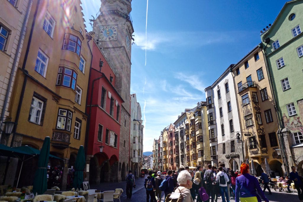 Exploring Innsbruck in Austria