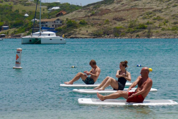 FloatFitt class at St James's Club, Antigua