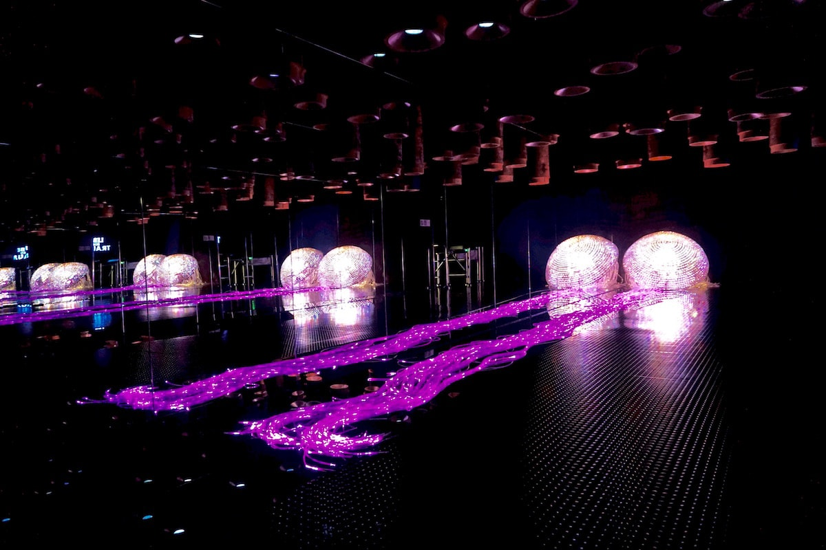 Crystal Forest at Swarovski Crystal Worlds, Austria