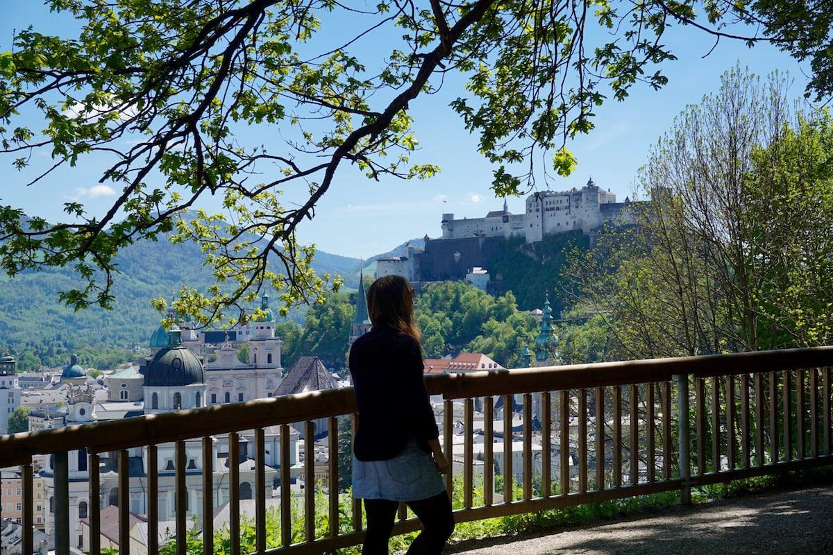 Best Salzburg views - Hohensalzburg Fortress, Salzburg, Austria