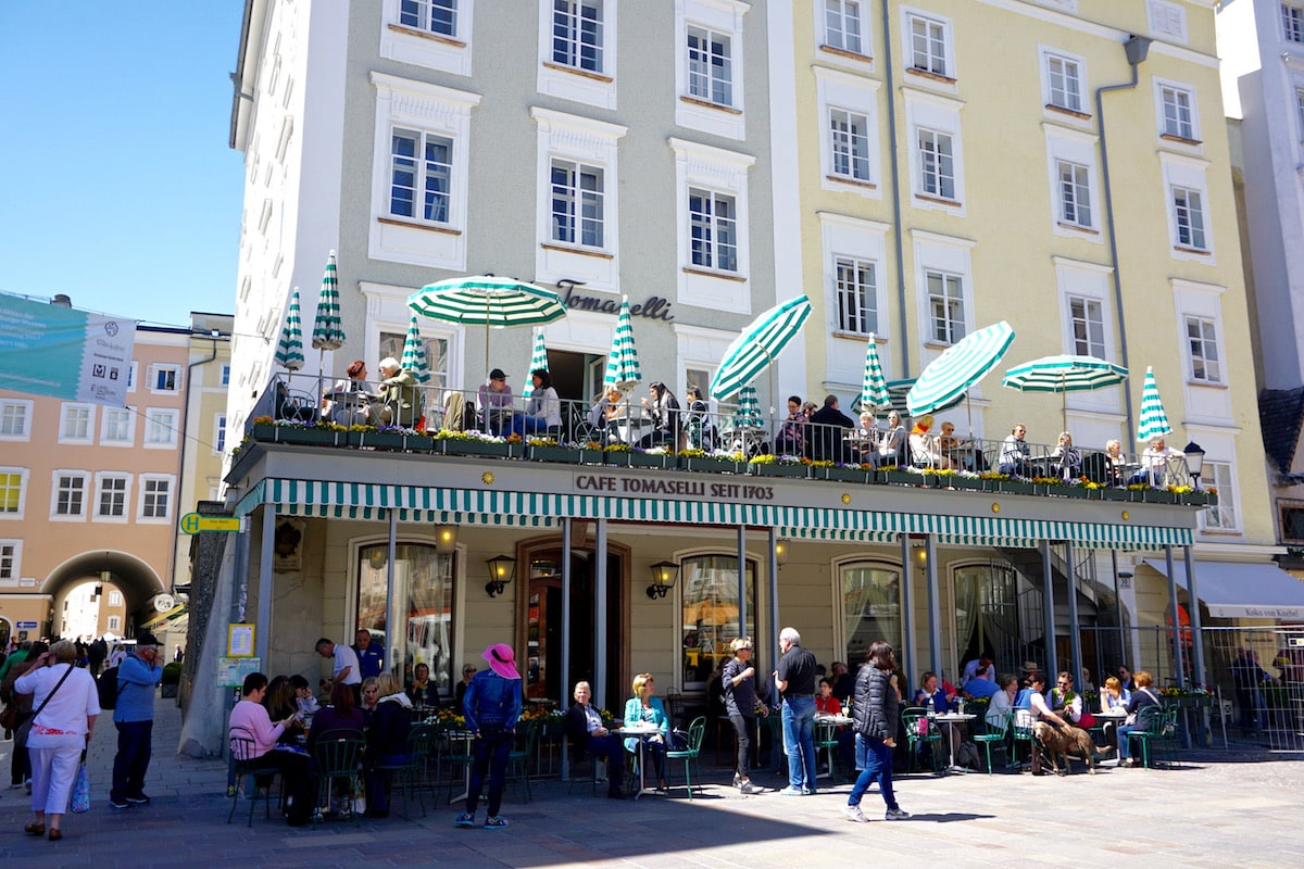 Café Tomaselli, Salzburg Austria