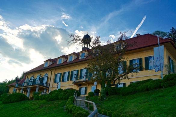 The beautiful palace next to Aiola Im Schloss, Graz, Austria