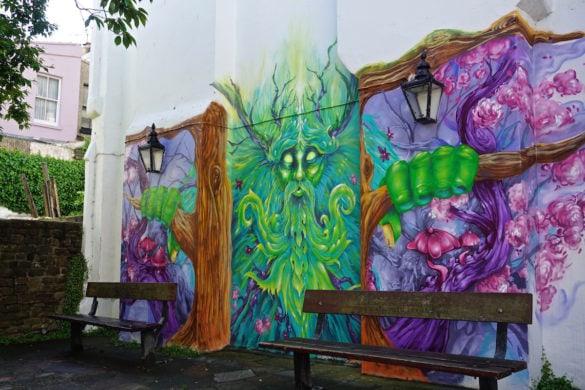 Street art in Hastings