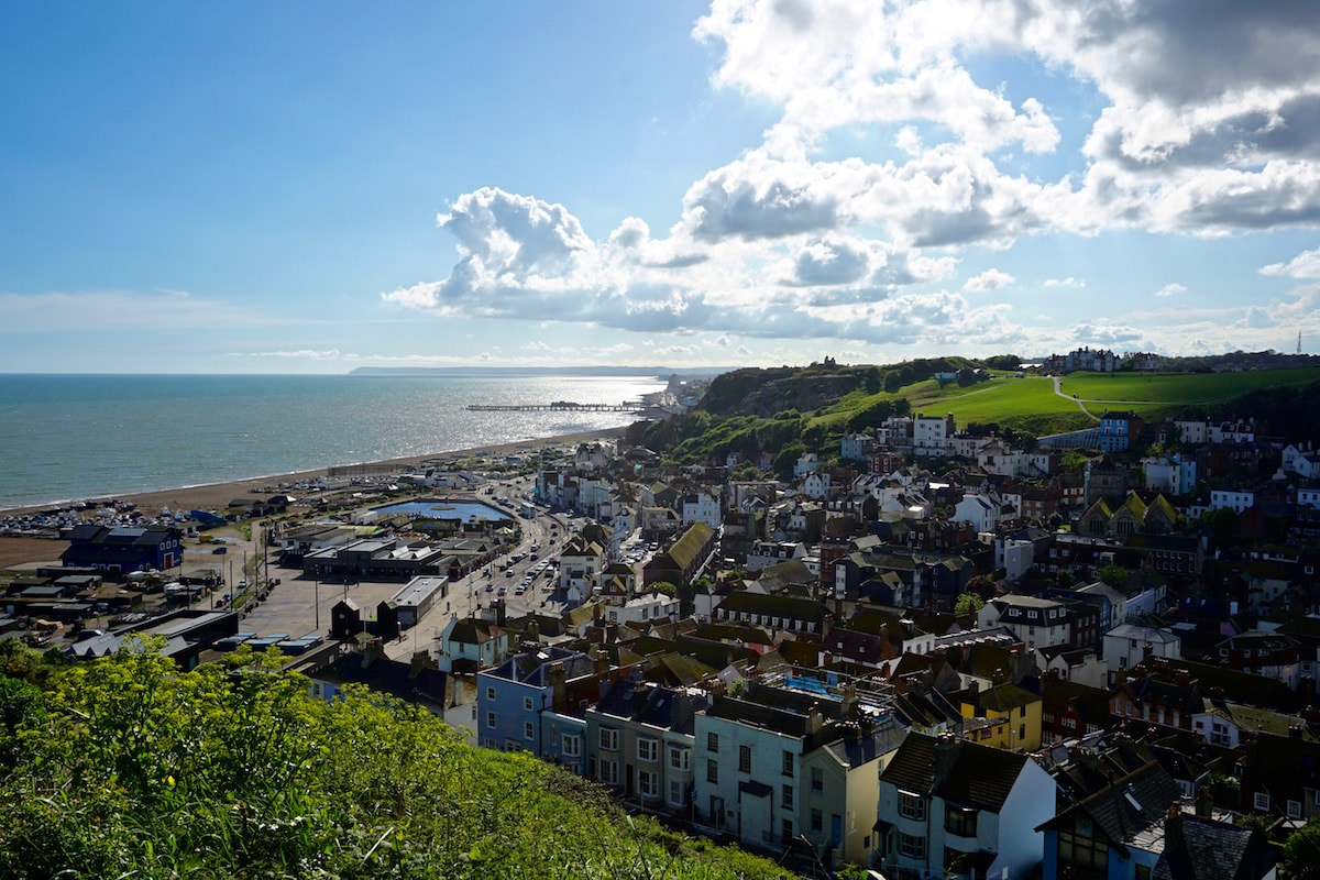 Views from the East Hill Lift, Hastings