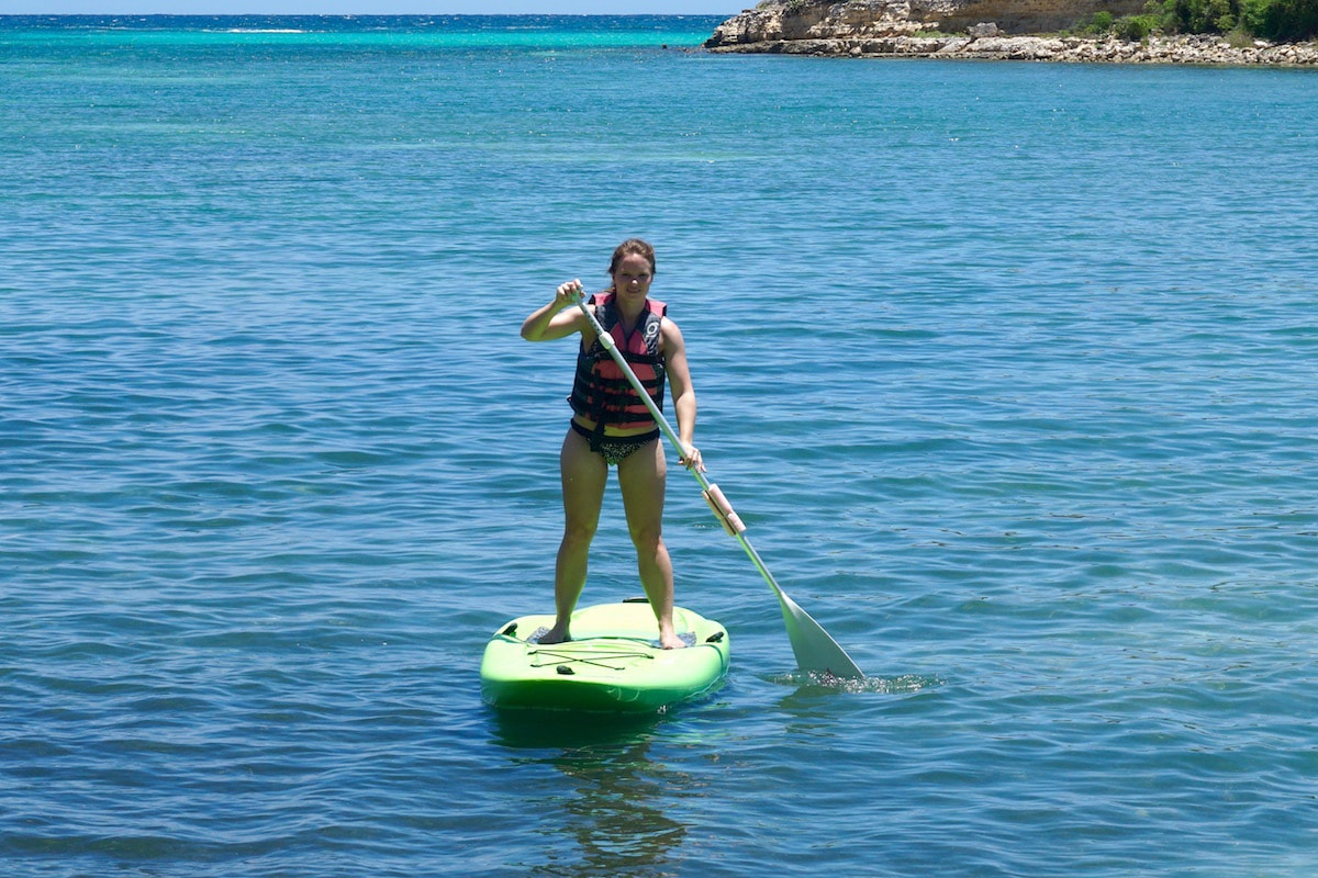 SUP in Antigua