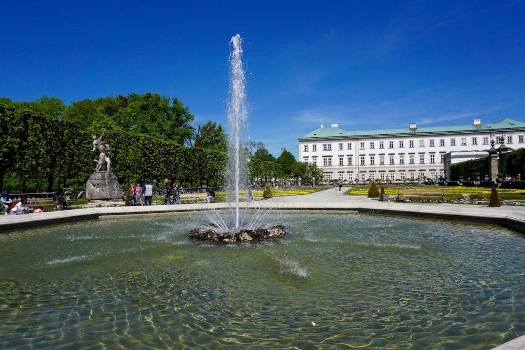 Mirabell Gardens, Salzburg, Austria