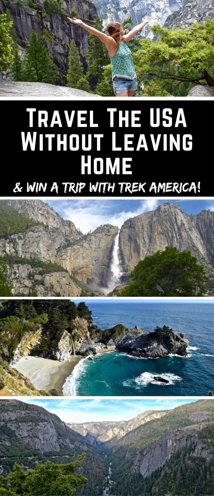 Travel The USA Without Leaving Home (and win a trip with Trek America!)