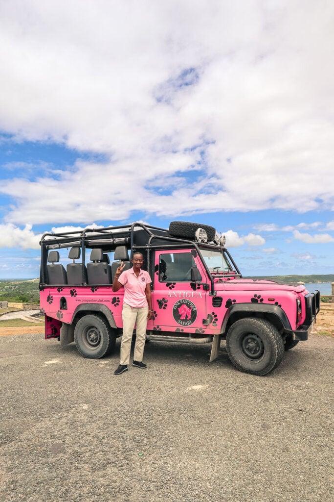 Pink Panther Safari, Antigua