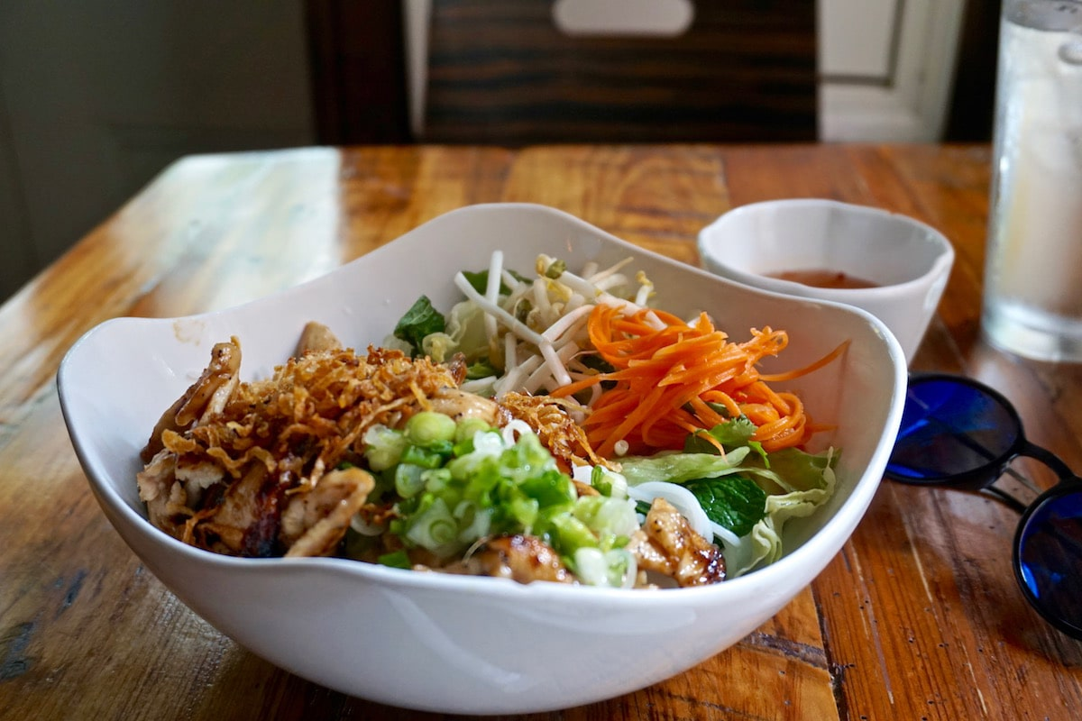 Vietnamese food at 9 Roses Cafe, New Orleans