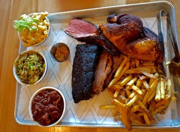 Dinner at MEAT, Edmonton