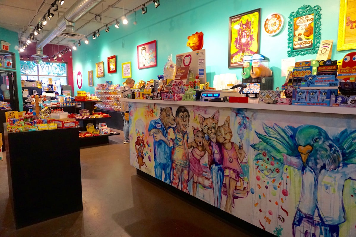Gummi Boutique in Edmonton, Canada