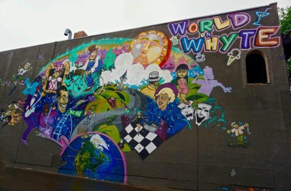 Street art in Edmonton, Canada