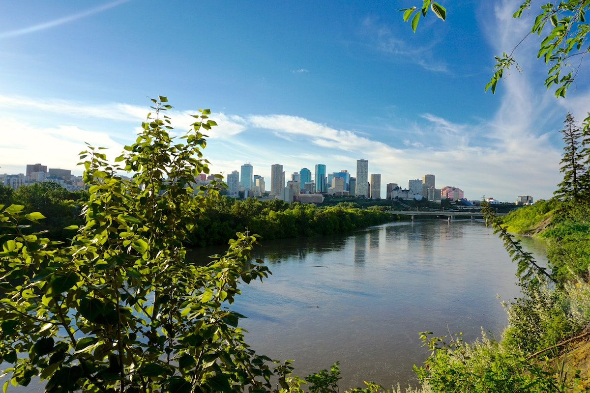 Beautiful views in Edmonton, Canada
