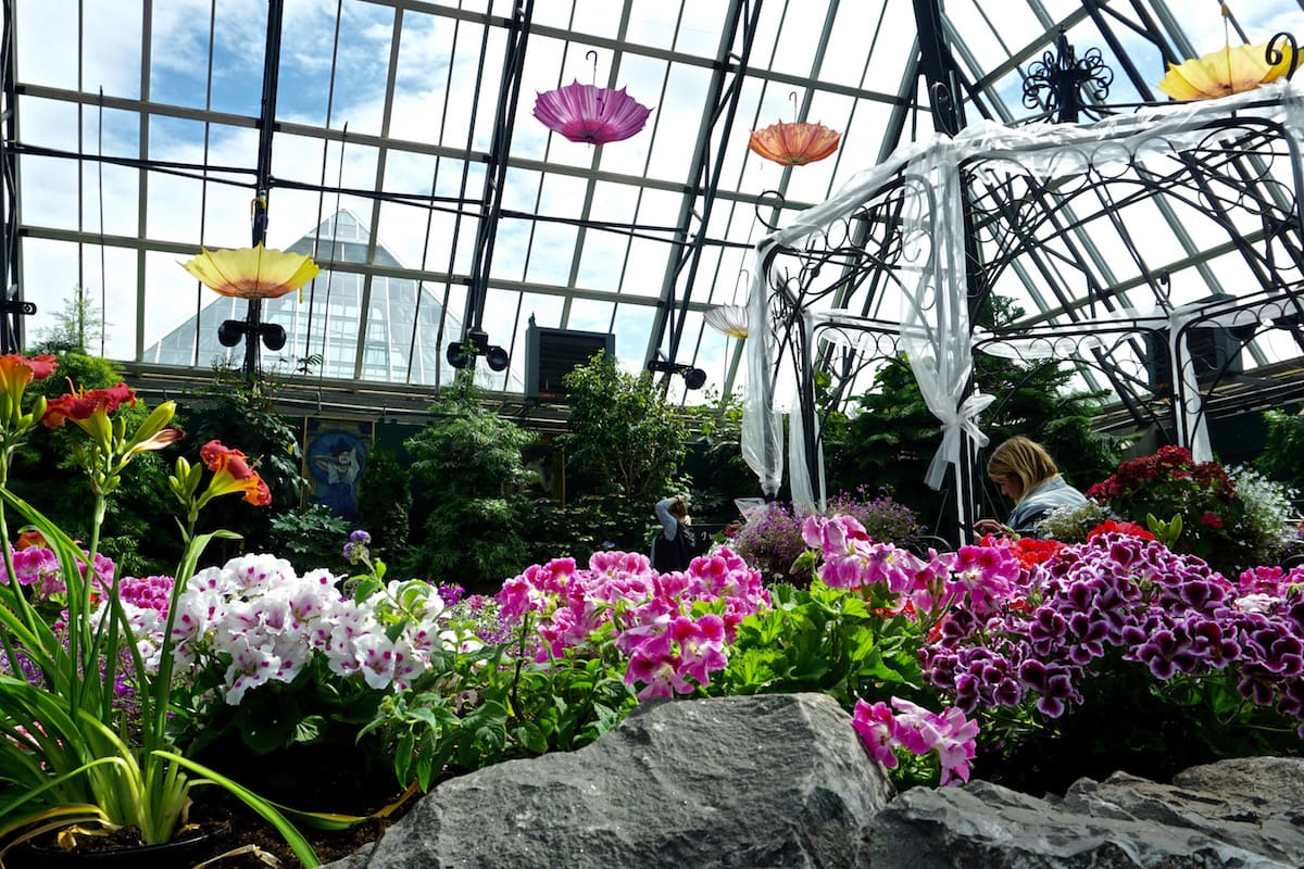 The Muttart Conservatory, Edmonton