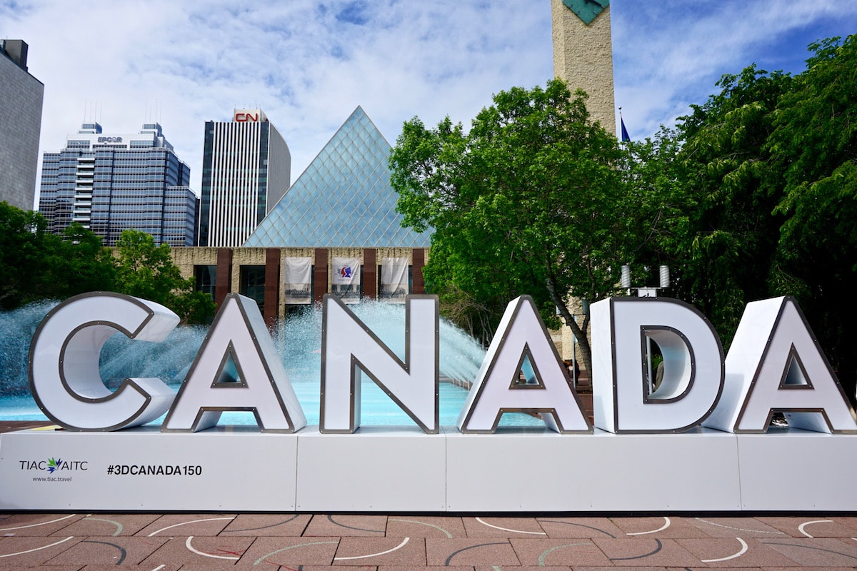 Edmonton city centre, Canada