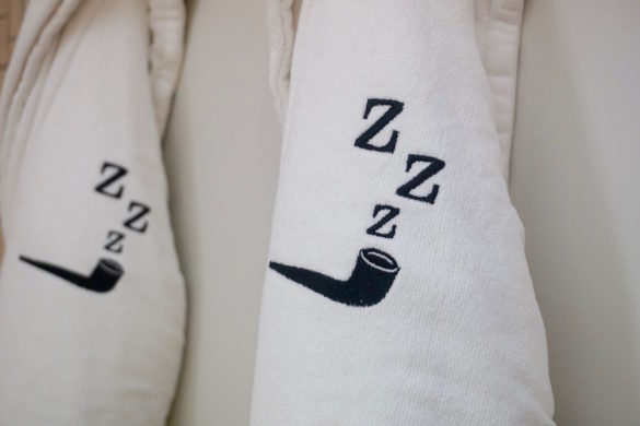 Cute dressing gowns at The Zetter Hotel, London