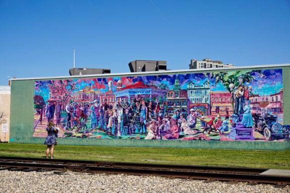 A beautiful mural in Edmonton, Canada
