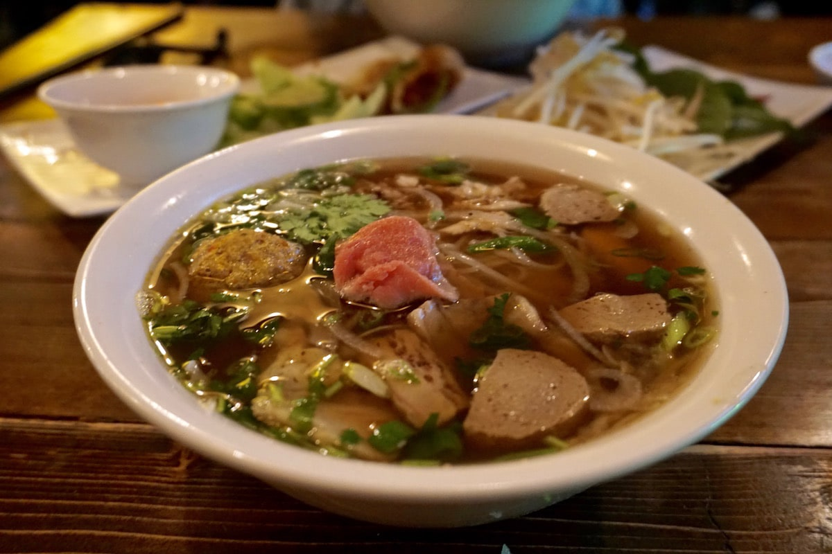 Dragon pho at Pho Boy, Edmonton