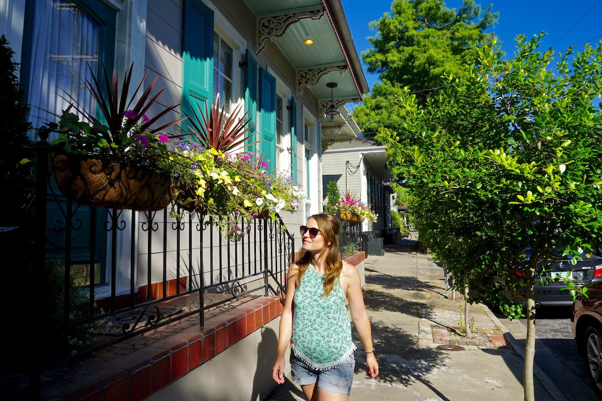 Exploring colourful New Orleans