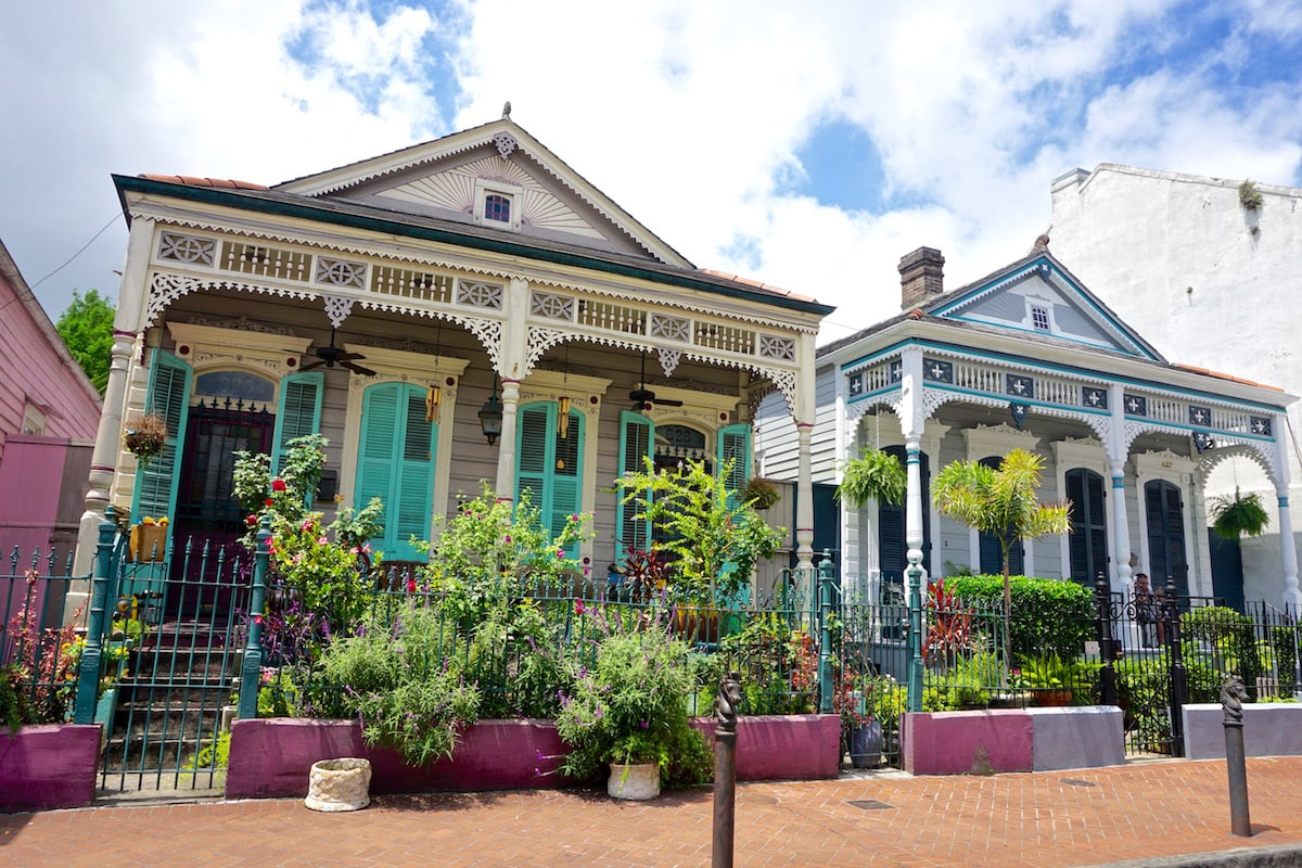Beautiful architecture in New Orleans