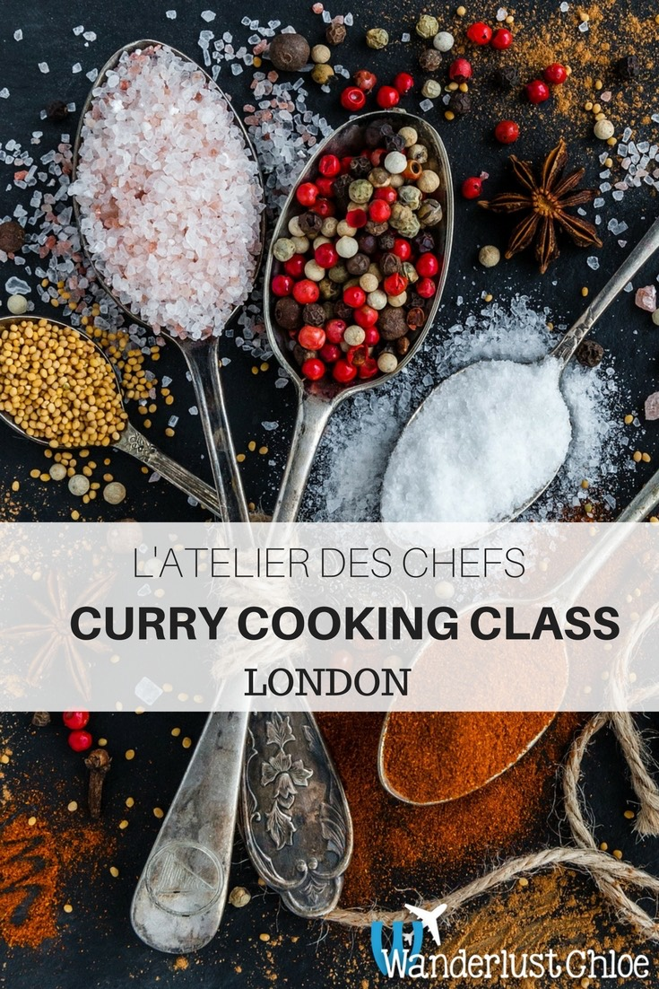 REVIEW: Curry Cooking Class at L'Atelier Des Chefs, London