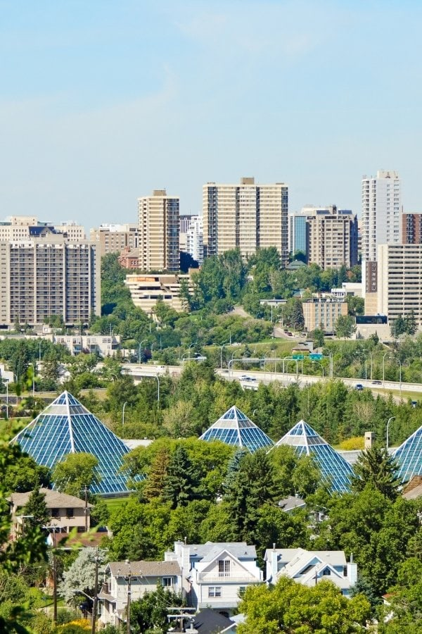 Muttart Conservatory in Edmonton