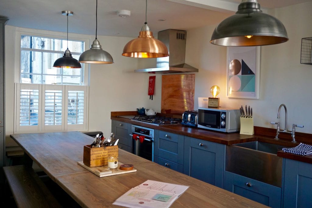 Incredible kitchen at Mr Darcy's Abode, Bath