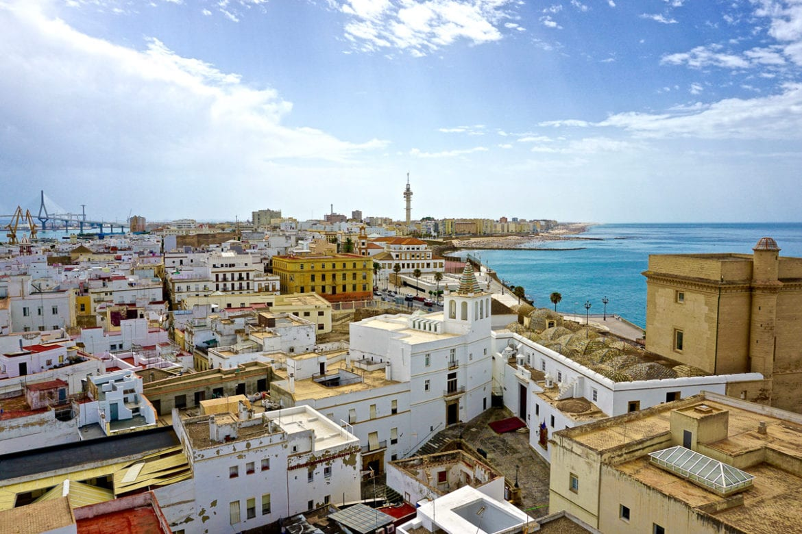 Amazing views from Cadiz Cathedral