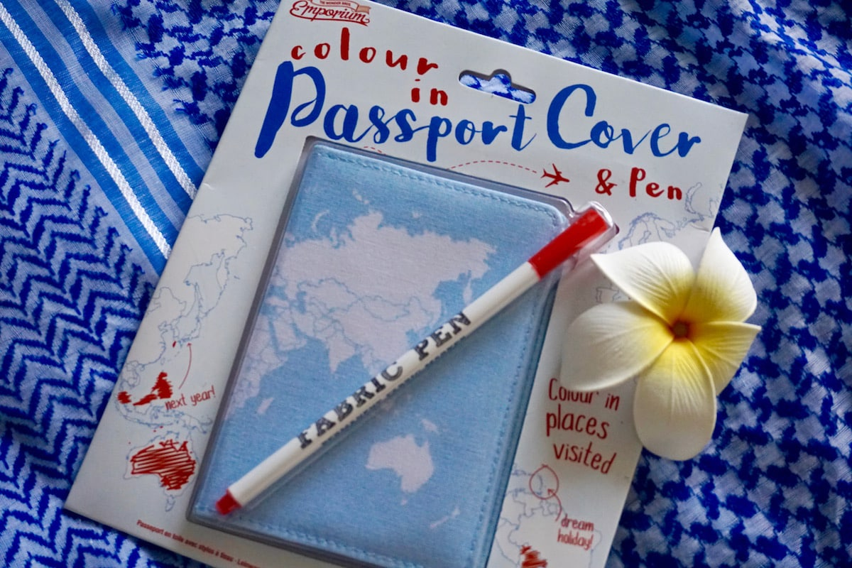 Colour In Passport Case