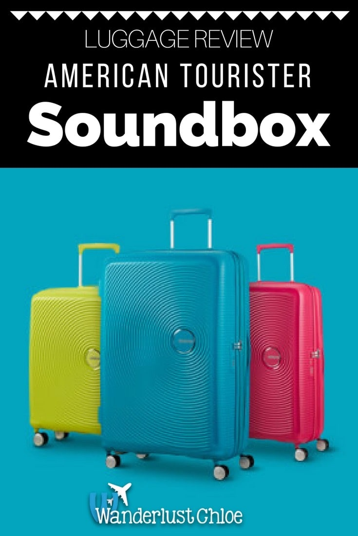 American Tourister Soundbox Suitcase Review
