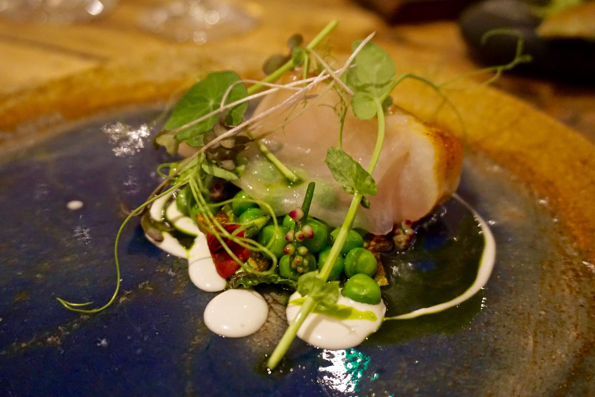 Cod dish at The Forest Side