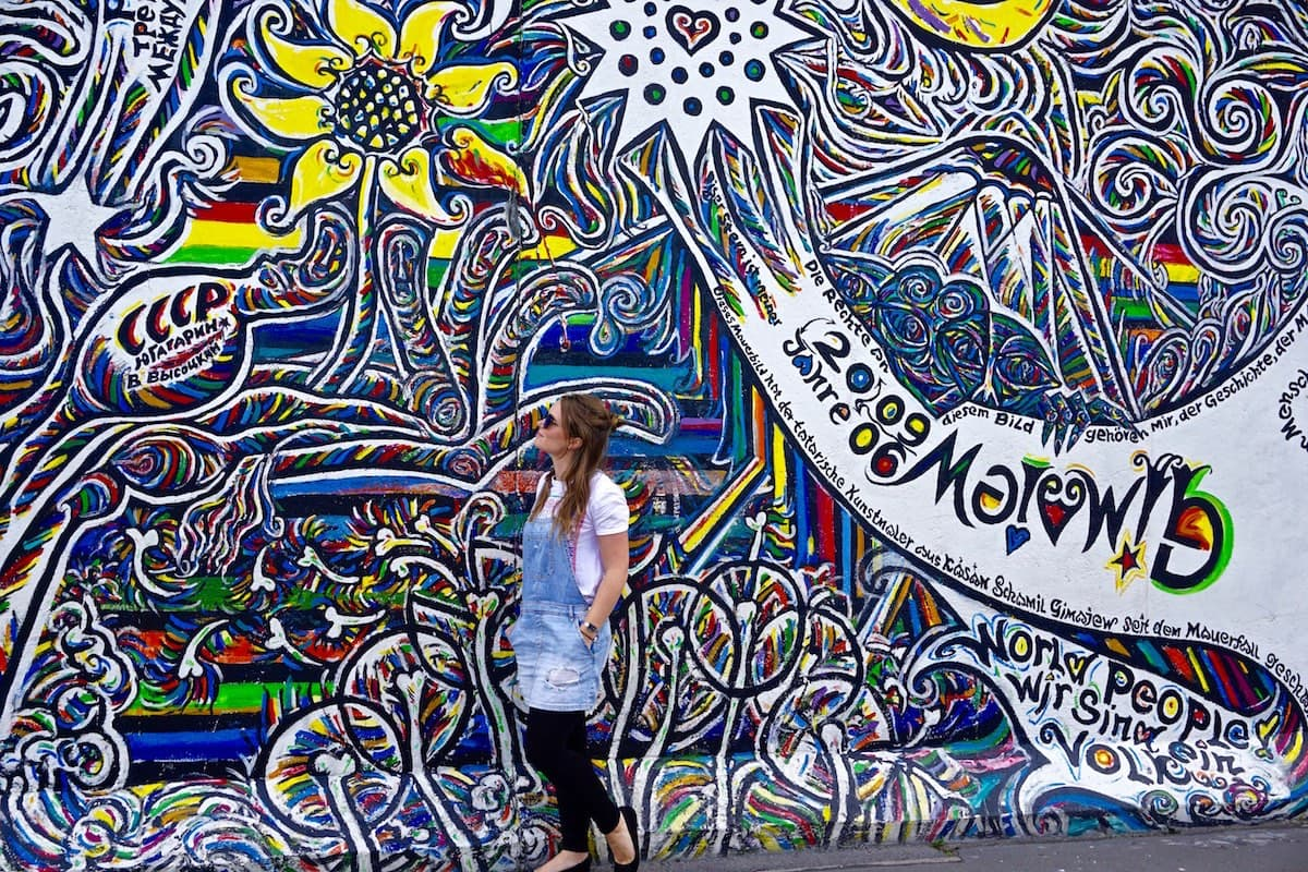 Exploring Berlin's East Side Gallery