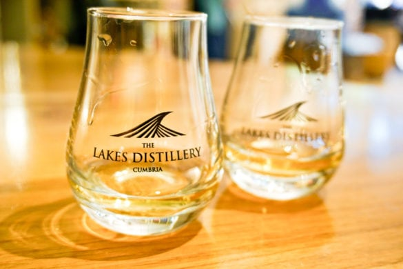 Tasting session and tour at The Lakes Distillery