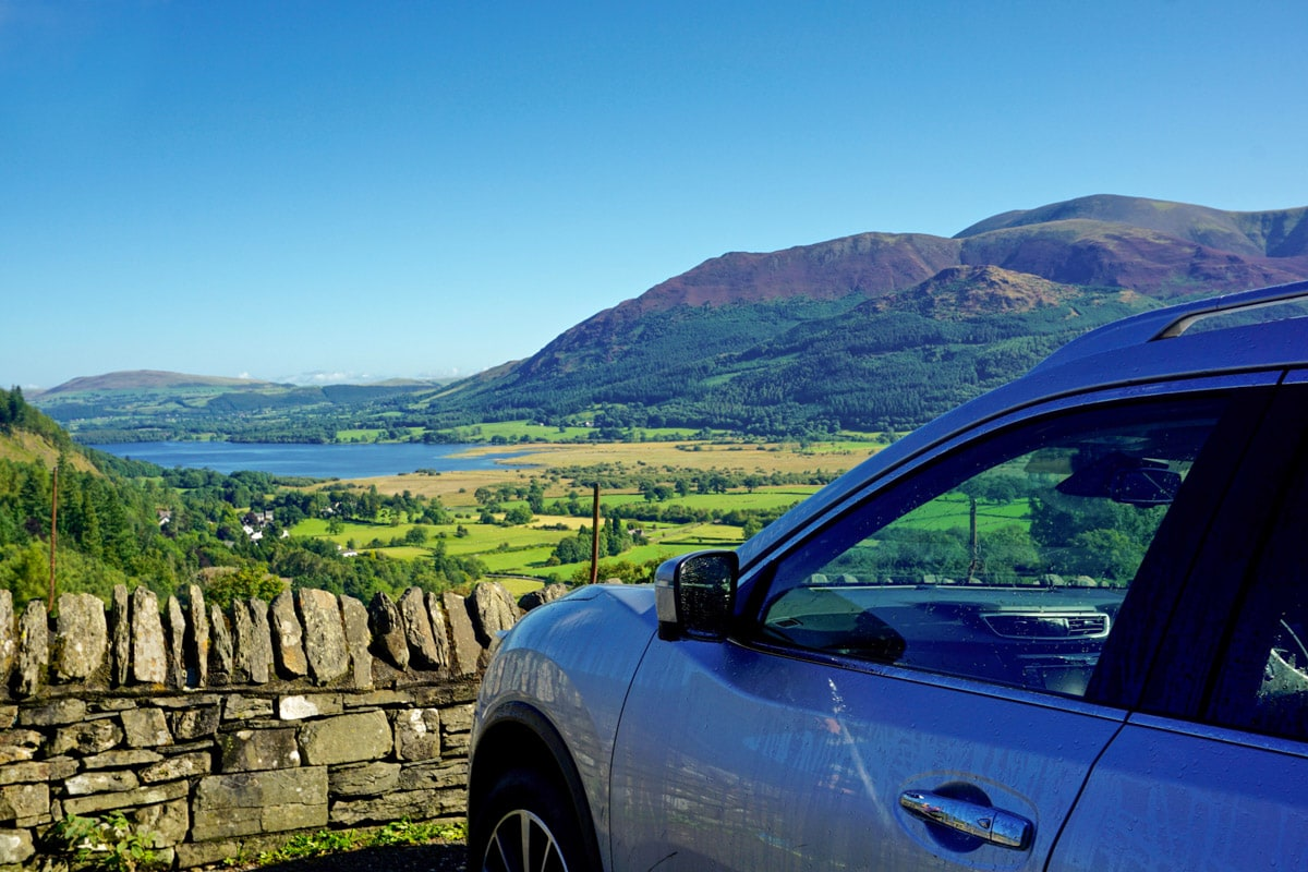 Amazing views on our Hertz road trip through the Lake District