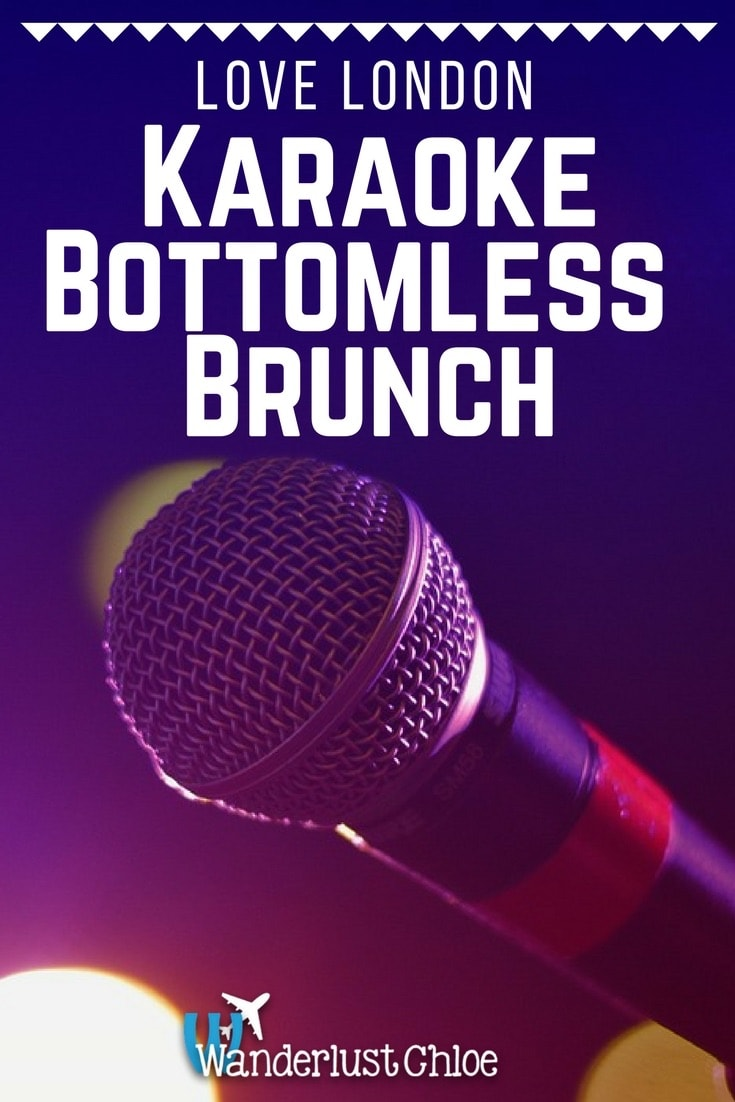 Karaoke Bottomless Brunch at Lucky Voice In London