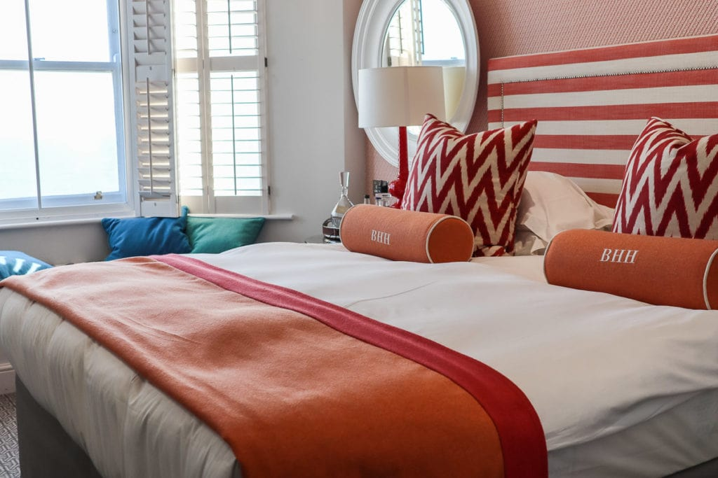 Our deluxe seafront room at Brighton Harbour Hotel and Spa