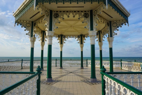 Beautiful views along Brighton seafront