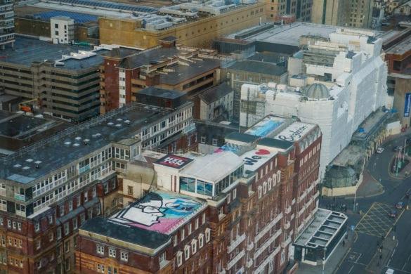 Views from i360, Brighton
