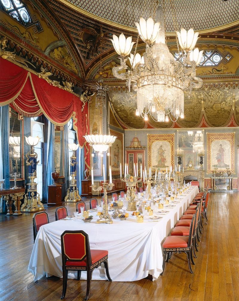 Royal Pavilion Banqueting Room (Photo by The Royal Pavilion)