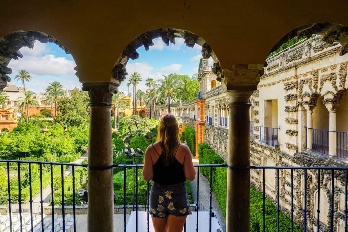 Exploring the Real Alcazar De Seville