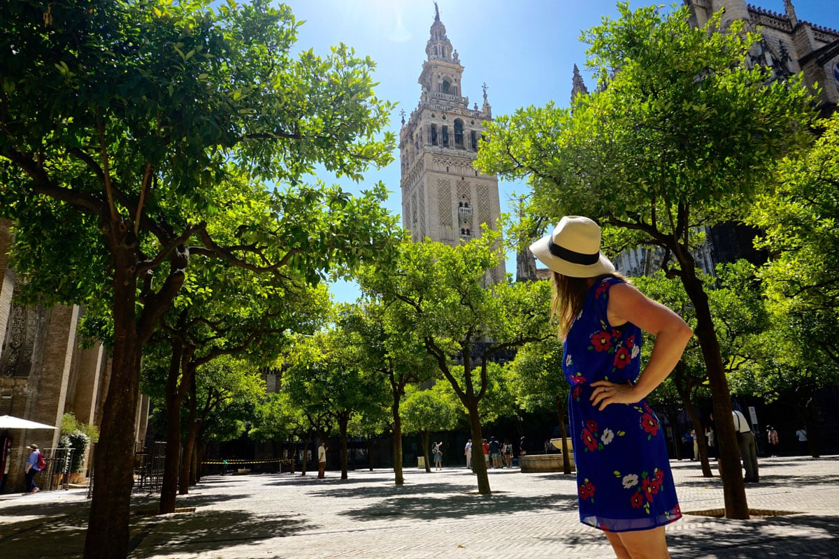 The beautiful Giralda Tower, Seville
