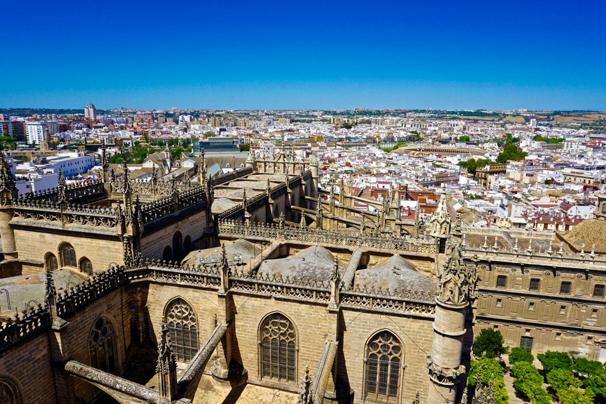 Views from the Giralda Tower, Seville