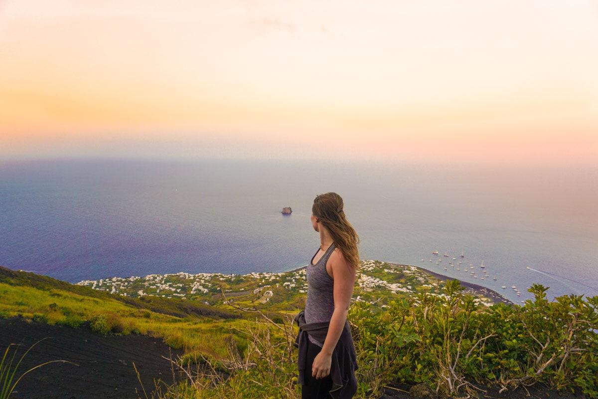 Hiking Stromboli Volcano, Sicily