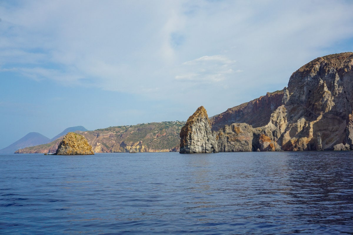 Beautiful views in Sicily's Aeolian Islands