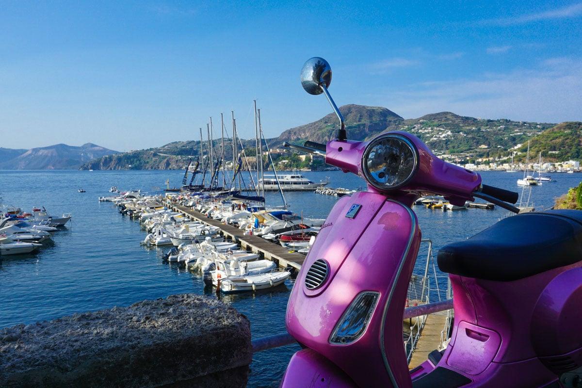 Lipari Marina, Sicily