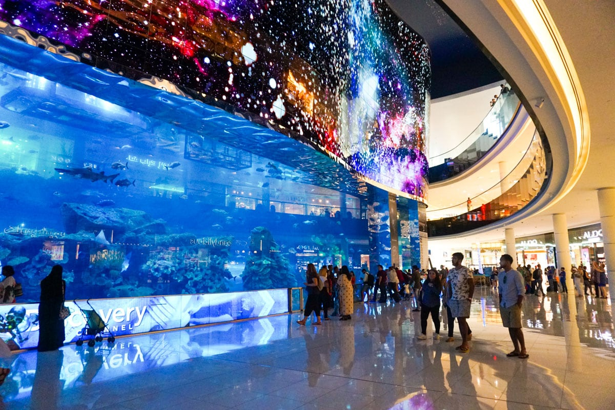 Aquarium in The Dubai Mall