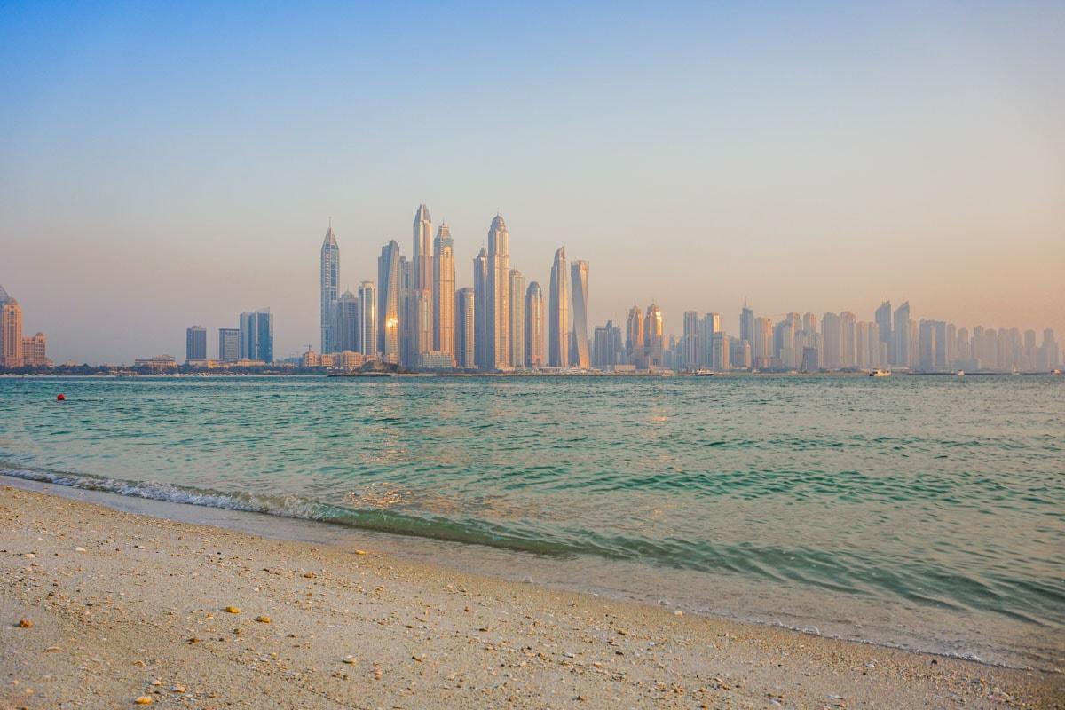 Beautiful views of Dubai