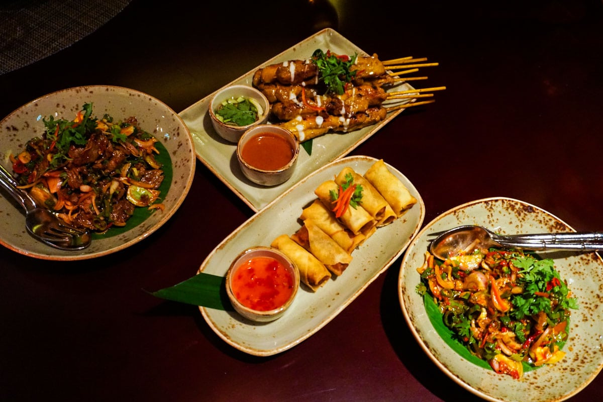 Tasty Thai food at Pai Thai in Dubai
