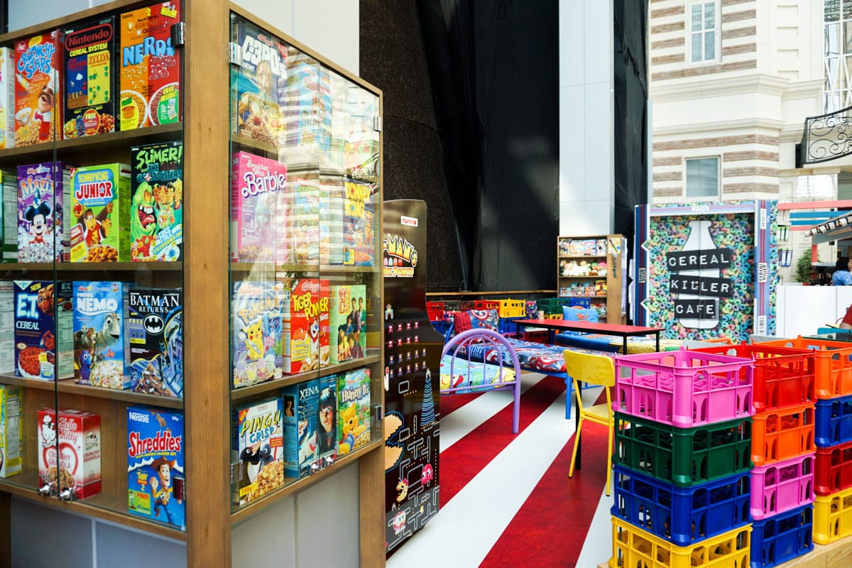 Cereal Killer Cafe, The Dubai Mall