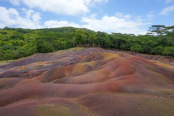 Seven Coloured Earths, Chamarel, Mauritius